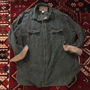 Vintage Abercrombie & Fitch Corduroy Button Down